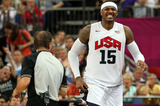 Knicks Coach Praises Anthony for Carrying over His Play from the Olympics