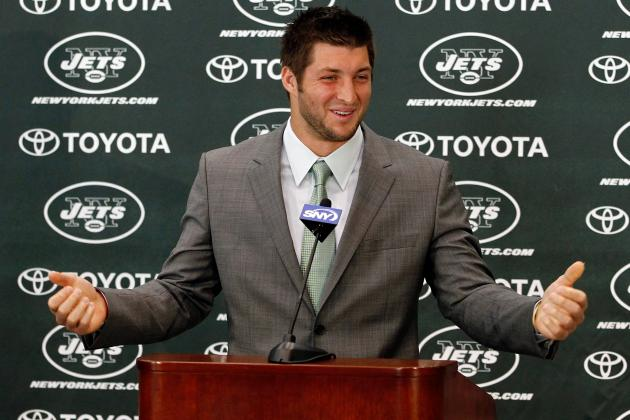 Tim Tebow: Owner Woody Johnson Says QB Will Remain with Jets for 3 Years
