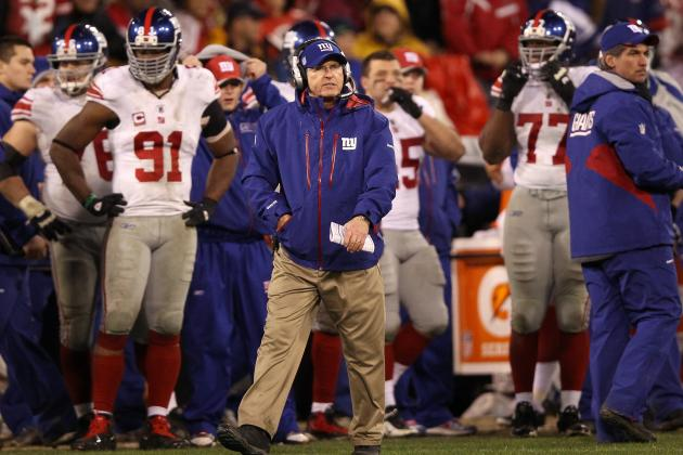 Giants' Tom Coughlin Senses 'nobody Gives Us a Chance to Win' vs. 49ers