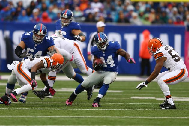 Ahmad Bradshaw: Don't Expect Another Strong Fantasy Performance from Giants RB