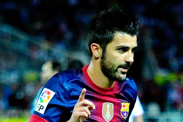 FC Barcelona: Tito Vilanova Playing Dangerous Game with David Villa