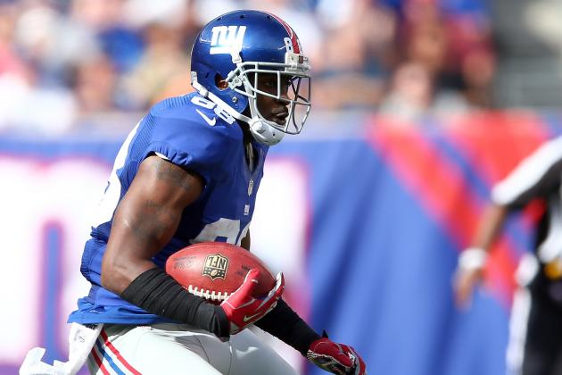 Ahmad Bradshaw Says Hakeem Nicks Gave 'hint' That He Will Play Sunday