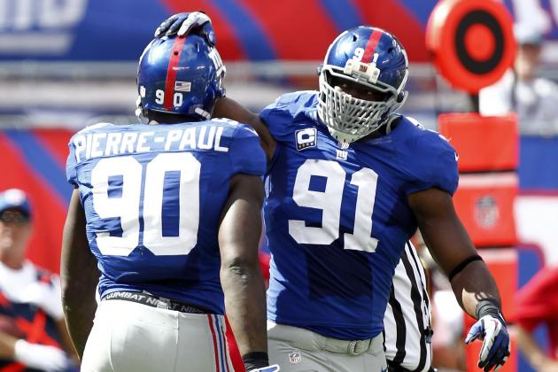 Giants' Tom Coughlin Not Satisfied with Pass Rush