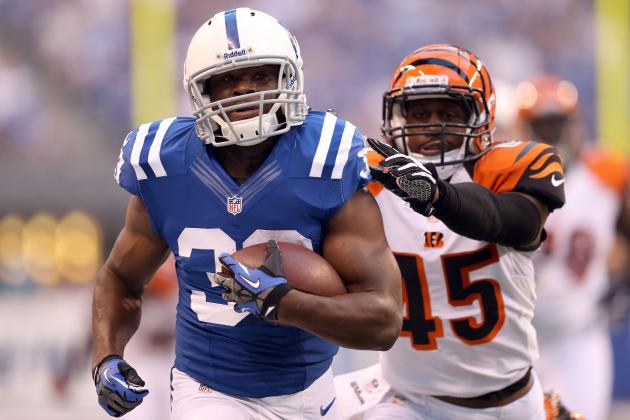 Updated Fantasy Football Outlook for Vick Ballard After Donald Brown Injury