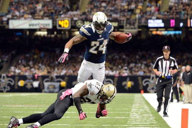 2012 Fantasy Football: PPR Week 6 Running Back Rankings
