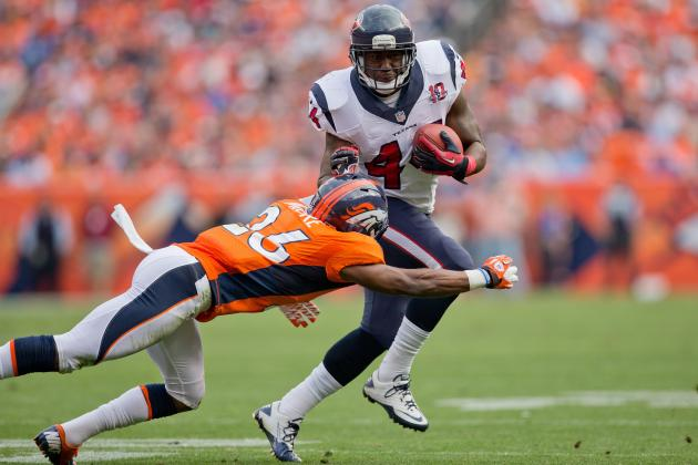 Ben Tate: Fantasy Football Owners Must Continue to Bench Texans Backup RB