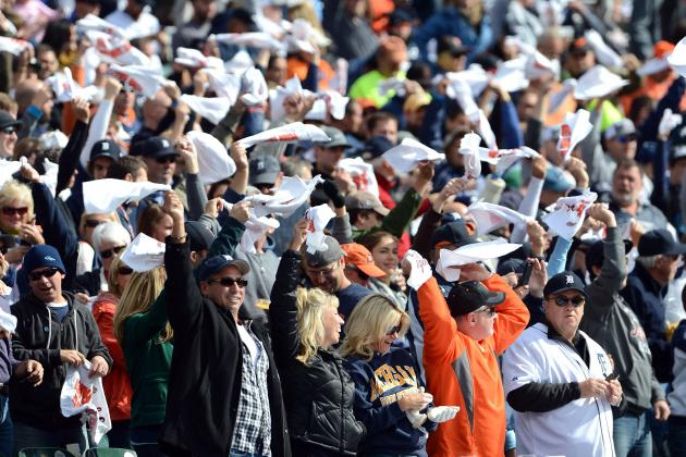 Are Rally Towels Awesome or Terrible for the MLB Playoff Experience?