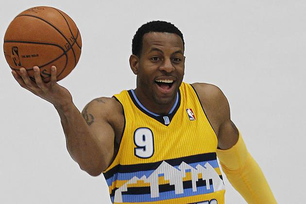Andre Iguodala Starring, Leading in Nuggets Training Camp