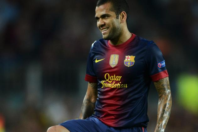 Barcelona Fear Dani Alves Has Lost His Focus