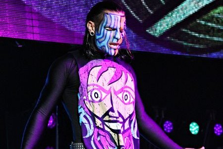 WWE/TNA: Will Jeff Hardy Return to WWE Once His TNA ... Jeff Hardy 2013 Face Paint