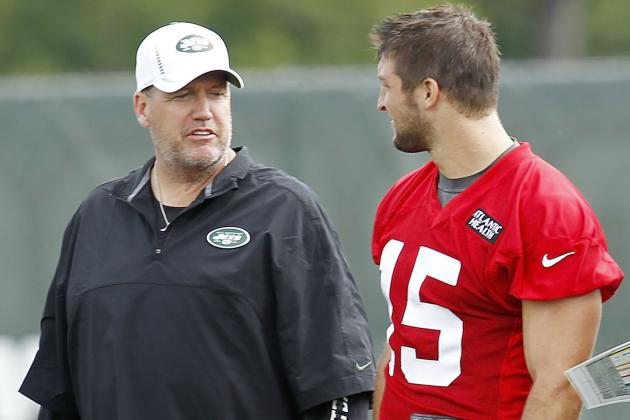 Rex Ryan Disagrees with Woody Johnson on Both Quarterbacks