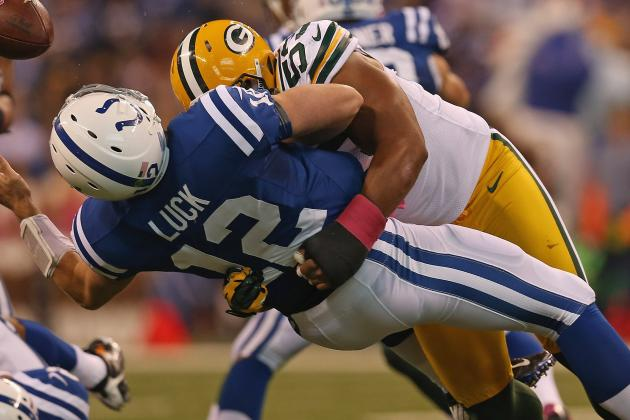 Packers LB Nick Perry Fined $15K for Hit on QB Andrew Luck