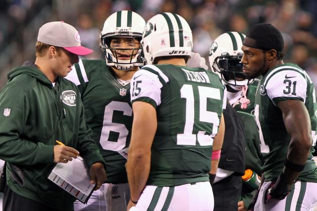 New York Jets:  the Tebow Package Is Not Working Right Now