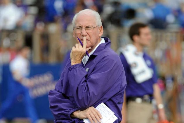 Kansas State Coach Bill Snyder Still Kicking Ass at 73