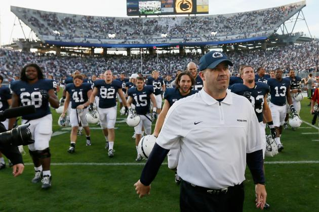 Penn State Coach Bill O'Brien Wary of Lions' Final Six-Game Stretch