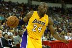 Kobe Day-to-Day with Shoulder Strain