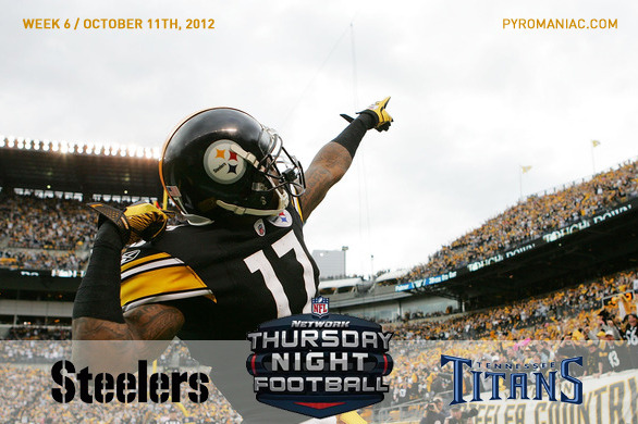 Fantasy Football Week 6: Pittsburgh Steelers vs. Tennessee Titans