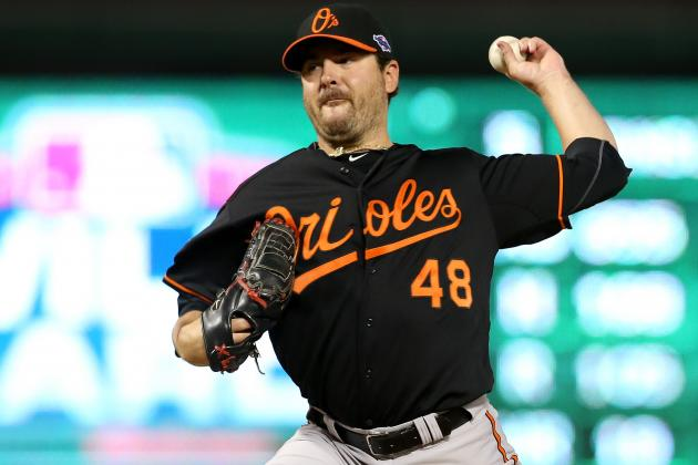 Joe Saunders Will Pitch Game 4 of ALDS for Orioles