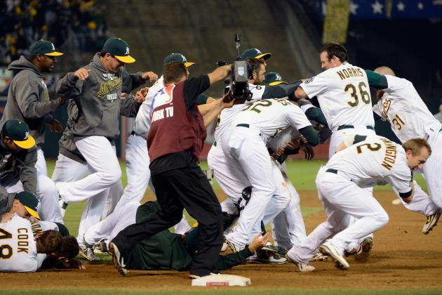 Oakland Athletics Force ALDS Game 5 in Explosive Coliseum Atmosphere