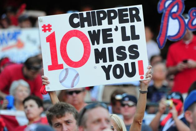 Atlanta Braves: Who Will Step Up as a Leader After Chipper Jones's Retirement?