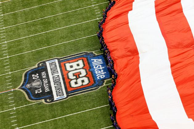 BCS Rankings:  the Promise of a Future Playoff Doesn't Fix the 2012 Season