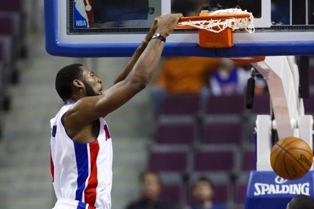 Pistons Encouraged by the Way Andre Drummond and Will Bynum Operate Together