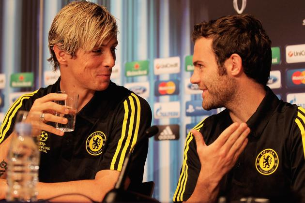 Fernando Torres: Juan Mata Doesn't Need to Worry About Snub