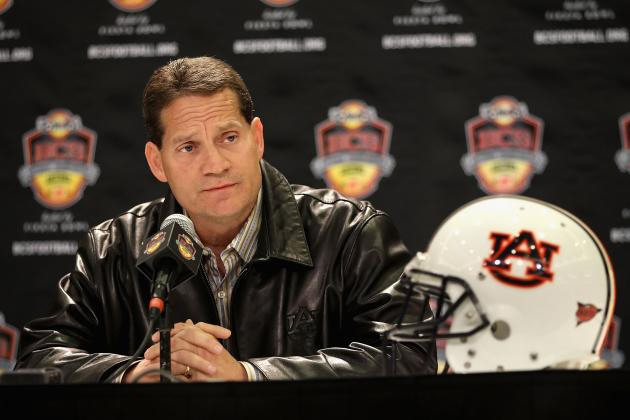 Auburn Football: Gene Chizik Needs Wins, Not Facebook Support