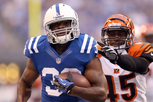 Donald Brown Shouldn't Command Colts Starting Job from Vick Ballard Upon Return