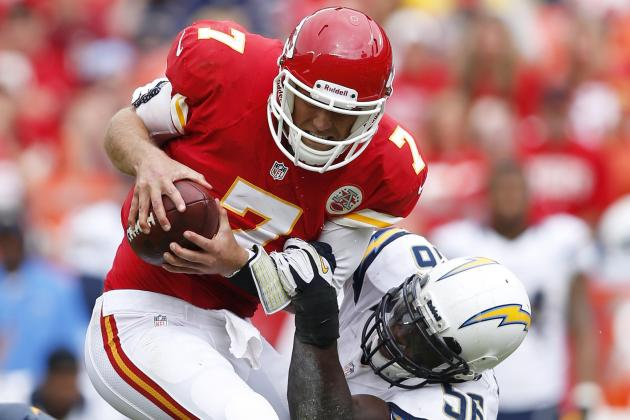 Matt Cassel Injury: Updates on Chiefs QB's Week 6 Status and Fantasy Value