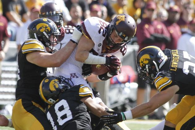 Gophers Receivers Starting to Catch on