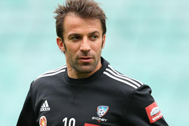 Alessandro Del Piero Rejected Move to Liverpool Due to Heysel