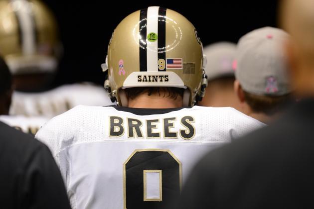 Breaking Down Why Drew Brees Has Struggled in 2012