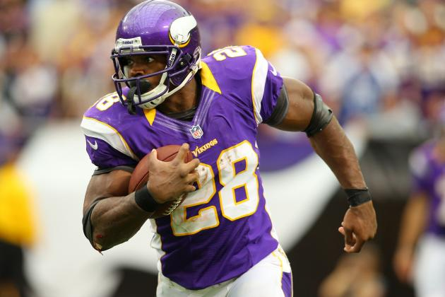 'Of Course' Adrian Peterson Wants to Run over Safety Who Injured Knee