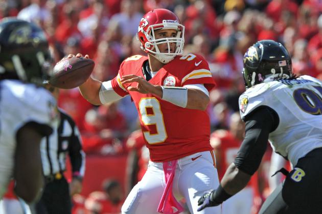 Brady Quinn to Start for Chiefs, and Other AFC West News