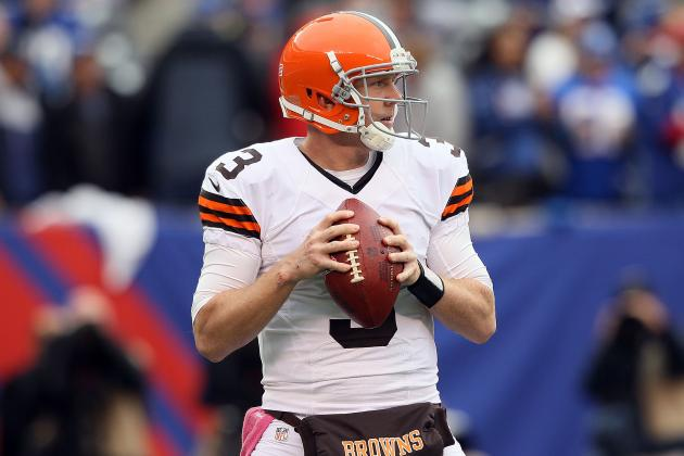 Cleveland Browns' Brandon Weeden on His Interceptions: 'It's an Ego Thing'