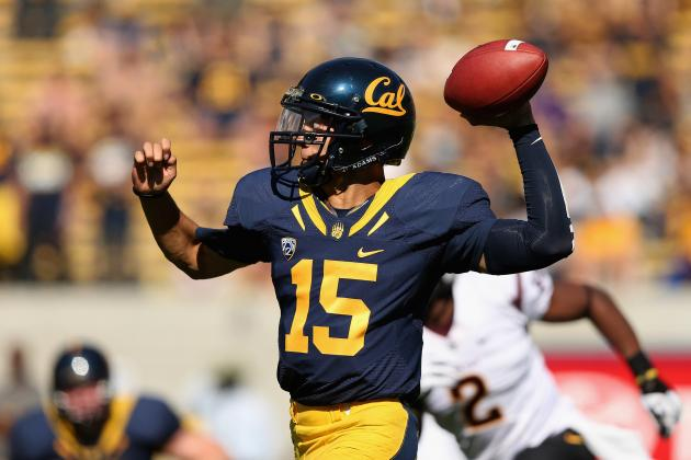 Avoiding Sacks Are Key for Cal QB Zach Maynard
