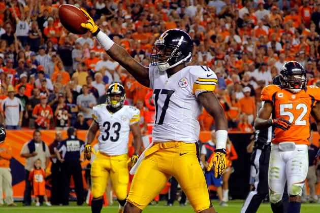 Steelers vs. Titans: Mike Wallace Will Spark Blowout Win for Steelers