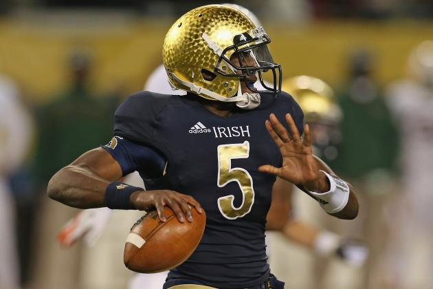Notre Dame Football: QB Controversy Should Continue Despite Big Win vs. Miami