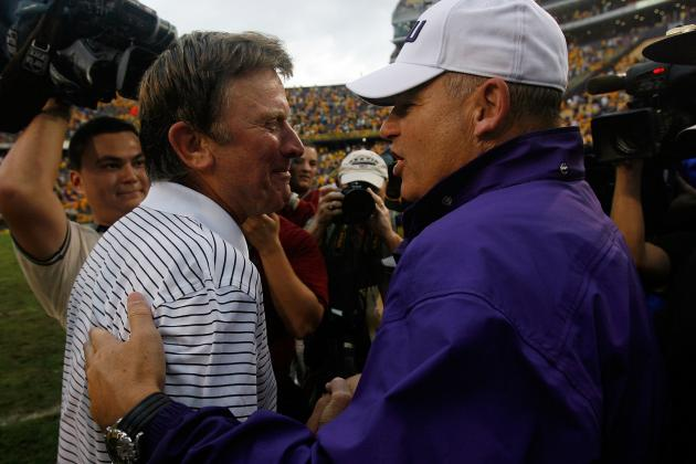 Low: LSU's Miles, South Carolina's Spurrier Share Similarities