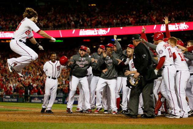 Jayson Werth's Walk-off HR Leads Nationals to 2-1 Win over Cardinals in Game 4