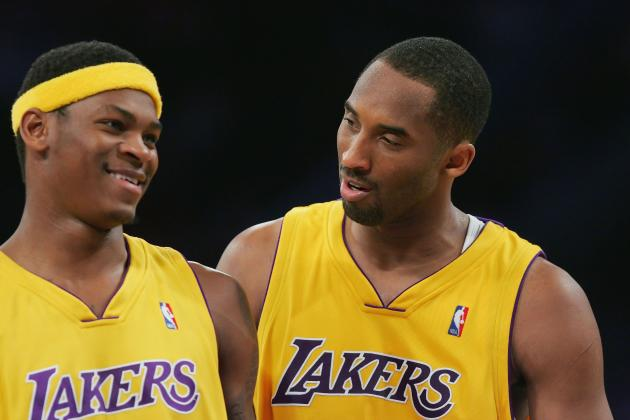 Feud Between Kobe Bryant and Smush Parker Highlights How Far Lakers Have Come