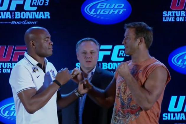 "UFC ""Quick Break"": Anderson Silva vs. Stephan Bonnar"