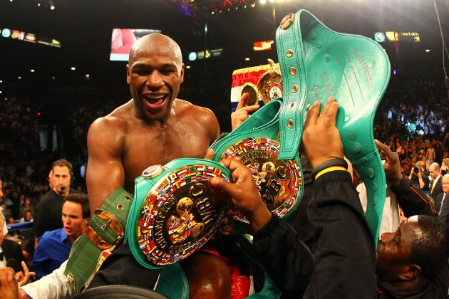 Floyd Mayweather: Fight vs. Canelo Alvarez Would Be Ideal Next Bout