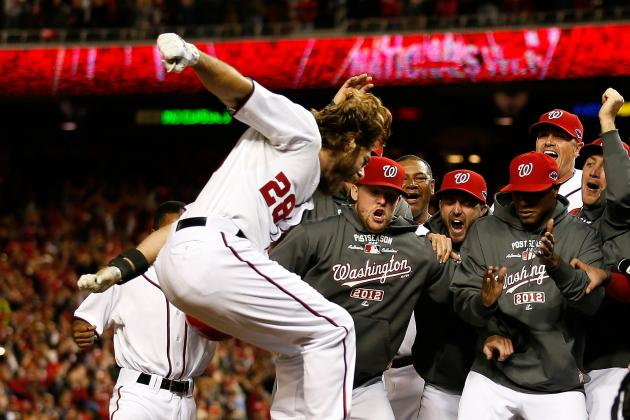 Washington Nationals' Jayson Werth Earned $126 Million with His Walk off Shot