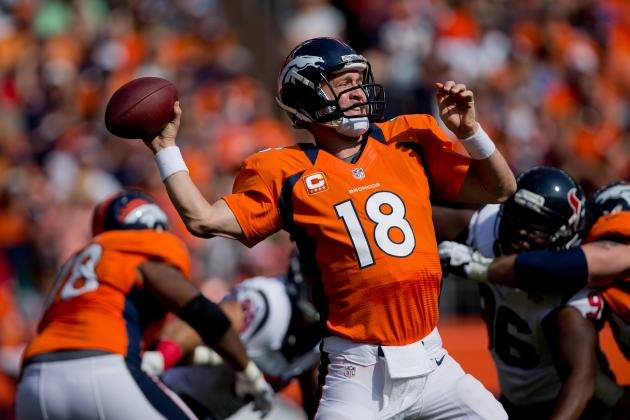 Broncos vs. Chargers: Peyton Manning's Struggles vs Chargers Will Help in Week 6