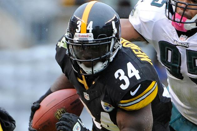 Rashard Mendenhall injured, leaves Steelers game