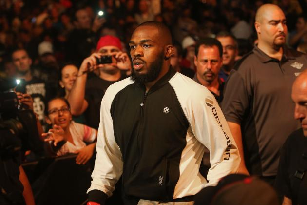 Jon Jones Warming to the Idea of Facing Chael Sonnen?