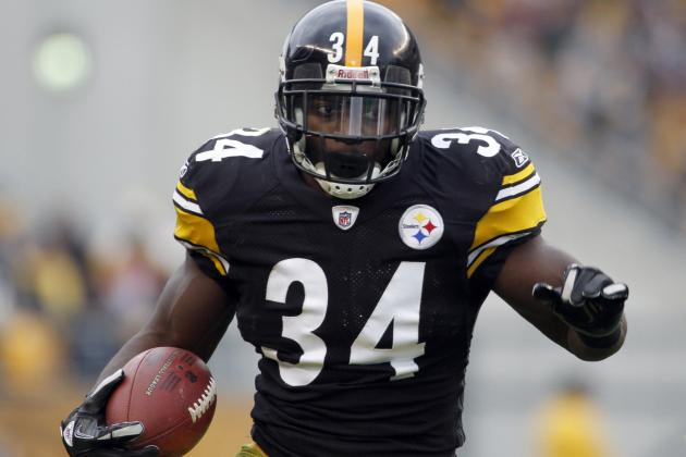 Rashard Mendenhall Injury: Latest Updates on Steelers RB's Achilles
