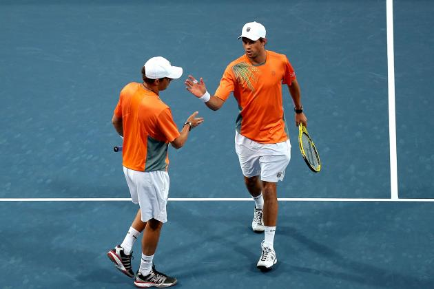 Men's Tennis: Bryan Brothers Continue to Break Doubles Records
